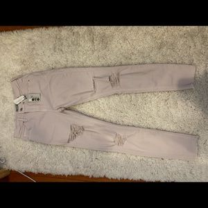 Topshop high rise Jamie NWT never worn jeans